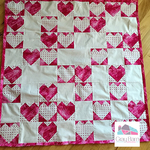 2 For 1 Free Valentine Quilt Patterns Gray Barn Designs